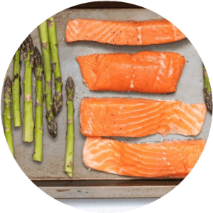 salmon and asparagus good sources of magnesium
